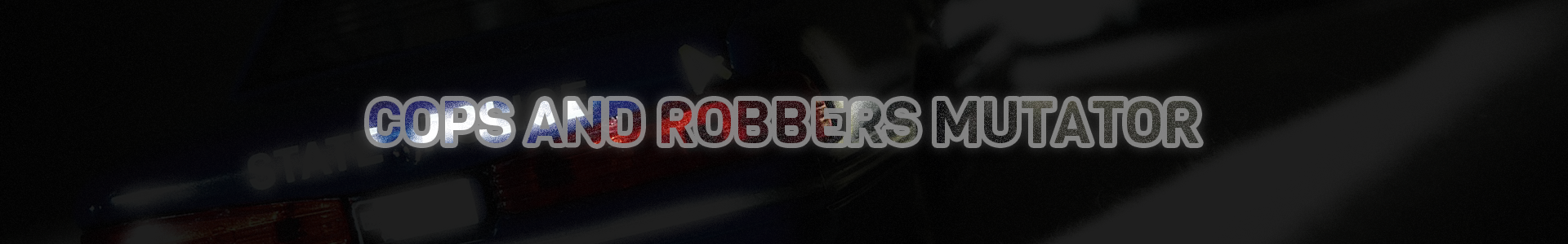 cops and robbers banner